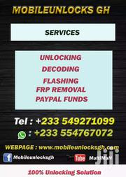 Remote Unlockingand FRP Removal All Phones | Automotive Services for sale in Western Region, Shama Ahanta East Metropolitan