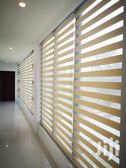 Beautiful Wooden Cream Zebra Blinds Curtains | Home Accessories for sale in Greater Accra, Tema Metropolitan