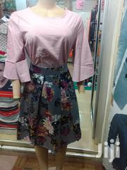 Skirt& Top Dress/ Red Top | Clothing for sale in Greater Accra, Kwashieman