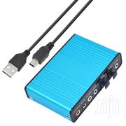 USB 6 Channel 5.1 / 7.1 Surround External Sound Card PC | Audio & Music Equipment for sale in Greater Accra, Adenta Municipal