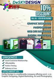 Door-to-door Graphic Design Services | Other Services for sale in Central Region, Gomoa East