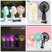 Rechargeable Fan Desk Lamps | Home Appliances for sale in Greater Accra, Odorkor