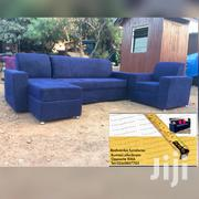 L-Shape Sofa Chair With the Center Table | Furniture for sale in Ashanti, Kumasi Metropolitan