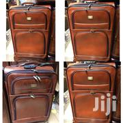 Travelling Bag Leather Set(3) | Makeup for sale in Greater Accra, Alajo