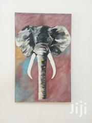 Black And White Elephant Of Canvas # Contact Marvarts | Arts & Crafts for sale in Greater Accra, Adenta Municipal