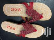 Red Design Slipper | Shoes for sale in Greater Accra, North Ridge