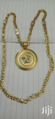 Gold Chain With Versace Pendant | Jewelry for sale in Greater Accra, Ga East Municipal