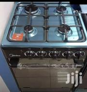 Stainless Steel Midea 4 Burner Gas Cooker With Oven | Kitchen Appliances for sale in Greater Accra, Accra Metropolitan
