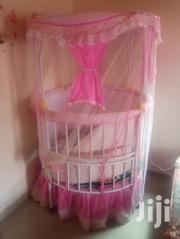 Few Months Used Baby Bed With Mosquito Net | Children's Furniture for sale in Central Region, Awutu-Senya