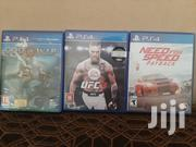 PS4 Games 3, Need For Speed , God Of War , Ufc3 | Video Games for sale in Greater Accra, Odorkor