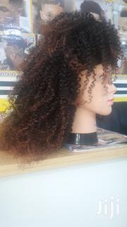 Gold and Black Curl Wig | Hair Beauty for sale in Greater Accra, Adenta Municipal