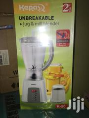 Brand New 1.5 Liters Kepas Blender 2 In 1 | Kitchen Appliances for sale in Greater Accra, Adabraka