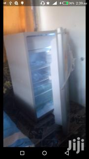 A Bit Used Sharp Fridge, Silver Coloured Use for Just 5 Months | Kitchen Appliances for sale in Greater Accra, Odorkor