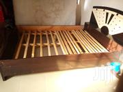 Slightly Used Wooden Bed | Furniture for sale in Greater Accra, Ga West Municipal