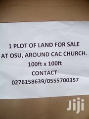 FENCED LAND AROUND CAC OSU | Land & Plots For Sale for sale in Greater Accra, Osu