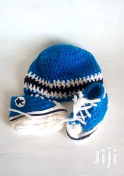 Handmade Crochet Baby Sneaker and Hat | Children's Shoes for sale in Greater Accra, Adenta Municipal