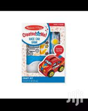 Melissa &Doug Decorate Your Own Race Car Bank | Children's Clothing for sale in Eastern Region, Asuogyaman