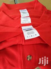 Gildan Red Polo | Clothing for sale in Greater Accra, Asylum Down
