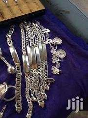 Silver Chains Bracelets Ear Rings/Rings | Jewelry for sale in Greater Accra, Okponglo