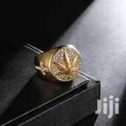 HIP Hop Iced Out Bling Gold Color Stainless Steel Ring | Jewelry for sale in Greater Accra, Kwashieman