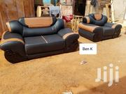 Elegant Side Wood Living Room Sofa Set | Furniture for sale in Ashanti, Kumasi Metropolitan