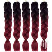 1 Pc 24' Double Colour Kanekalon Jumbo Synthetic Braiding Hair   Hair Beauty for sale in Greater Accra, Cantonments