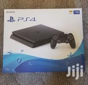 Sony PS4 Slim 500GB Jet Black | Video Game Consoles for sale in Greater Accra, South Kaneshie