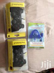 PS2 Sony Gamepad + Converter | Cameras, Video Cameras & Accessories for sale in Greater Accra, Okponglo