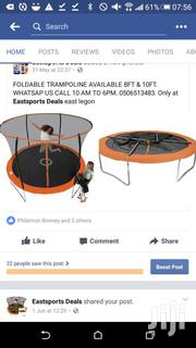 10ft Trampoline New In Box Folding | Sports Equipment for sale in Greater Accra, East Legon
