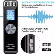 Digital Voice Recorder (8GB) With SD Card Slot | Audio & Music Equipment for sale in Greater Accra, New Mamprobi