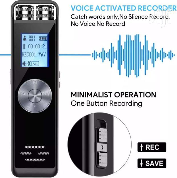 Digital Voice Recorder (8GB) With SD Card Slot