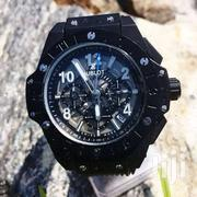All Black Hublot Unico Chronograph Watch | Watches for sale in Greater Accra, Nungua East