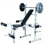 Weight Bench With 50kg Brand New | Sports Equipment for sale in Greater Accra, Nungua East