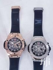 Hublot Big Bang Rose Gold Silver Chronograph Watches | Watches for sale in Ashanti, Kumasi Metropolitan