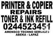 Repairs Of Printers And Copiers. Refilling Of Toner & Ink Cartridges   Automotive Services for sale in Greater Accra, Tesano