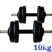 Dumbell Weights 10kg X 2 Iron | Sports Equipment for sale in Greater Accra, Achimota
