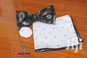 BLUE CITY Black And White Parsley Bow Tie | Clothing Accessories for sale in Greater Accra, Odorkor