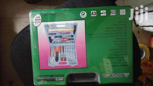 Archive: High Quality Complete Chrome Tools Box