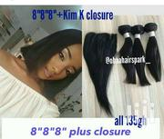 Blunt Cut Straight Quality+ Closure Deal 8, Wig Cap | Hair Beauty for sale in Greater Accra, Accra Metropolitan