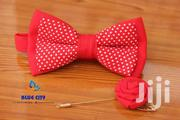 BLUE CITY Red And White Polka Dot Bow Tie | Clothing Accessories for sale in Greater Accra, Odorkor