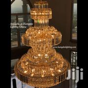 Crystal Glass Chandelier Available At Hamgeles Lighting Ghana | Home Accessories for sale in Greater Accra, Airport Residential Area