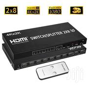 HDMI Splitter HD 4K Matrix Switch 2x8 | Computer Accessories  for sale in Ashanti, Kumasi Metropolitan