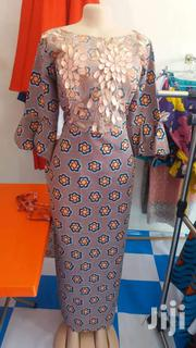 Quality  Fabric Fashion Sewed Long Dress   Makeup for sale in Greater Accra, Darkuman