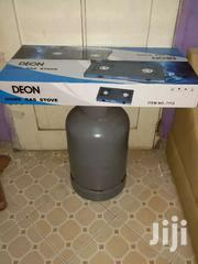 Cylinder And Brand New Automatic Stove | Home Appliances for sale in Greater Accra, Kotobabi