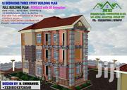 10 Bedrooms Three Story Building Plan | Houses & Apartments For Sale for sale in Greater Accra, Roman Ridge