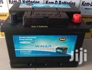 60ah 13plates Winar Starter Car  Battery-free Delivery+Alternator Test | Vehicle Parts & Accessories for sale in Greater Accra, North Kaneshie