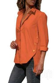 Long Sleeve Button Detail Shirt | Clothing for sale in Greater Accra, Accra Metropolitan