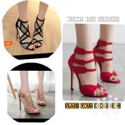 Ladies Red Wedding Shoes Women High Heel | Shoes for sale in Greater Accra, Dansoman