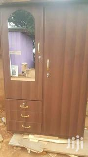 Brown Colored Wardrobe For Sell Now. Free Delivery | Furniture for sale in Greater Accra, North Kaneshie