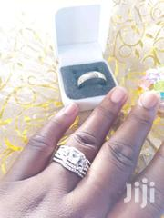 Silver Plated And Stainless Steel Couple Rings | Jewelry for sale in Greater Accra, Dansoman